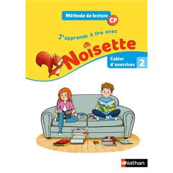 J'apprends à lire avec Noisette CP Cycle 2, Cahier d'exercices 2 Workbook