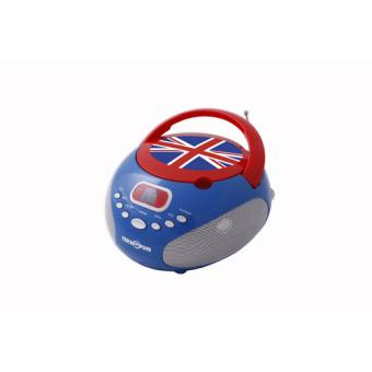 Boombox CD player et radio tuner Union Jack Teknofun