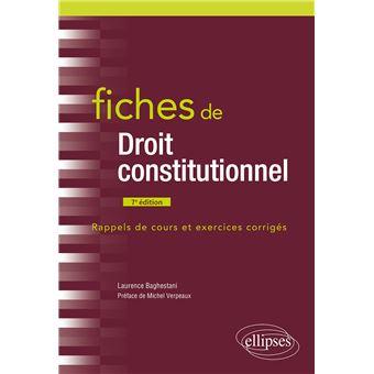 Dissertation de droit constitutionnel sur la constitution