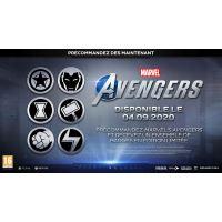 Bonus de précommande Badges Marvel's Avengers Edition Limitée