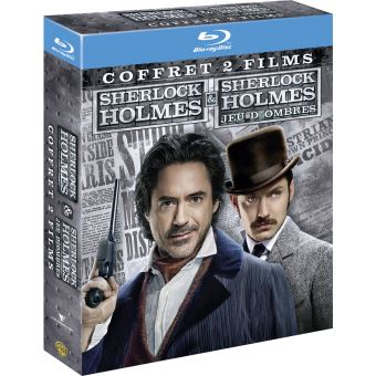 Sherlock HolmesSherlock Holmes - Sherlock Holmes 2 : Jeu d'ombres - Coffret Blu-Ray