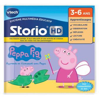Jeu Hd Storio Peppa Pig Vtech Jouet Multimedia Achat Prix Fnac