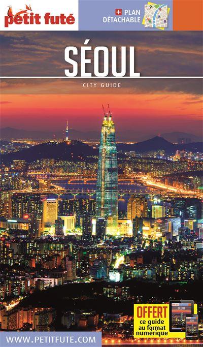 Seoul 2016 petit fute + plan