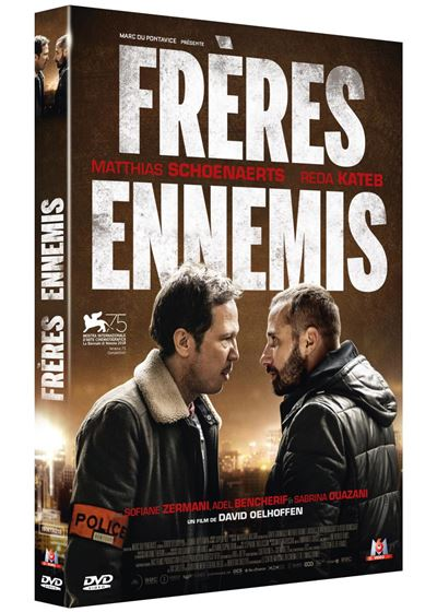 DVD du film Frères ennemis