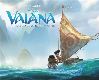 Tout l'art de Vaiana, la légende du bout du monde