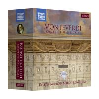 Box Set Monteverdi: Complete Madrigals - 15 CDs