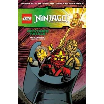 livre bd ninjago