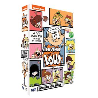 Bienvenue chez les LoudCoffret Bienvenue chez les Loud L'intégrale des 4 volumes DVD