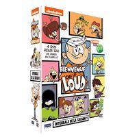 Coffret Bienvenue chez les Loud L'intégrale des 4 volumes DVD