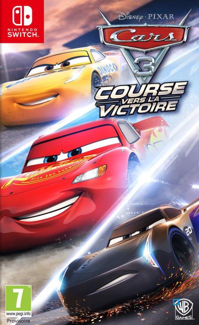 Cars 3 Course Vers la Victoire Nintendo Switch