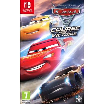 Jeu Cars 3 Nintendo Switch