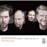 Beethoven Quatuors à cordes Opus 130 et 133