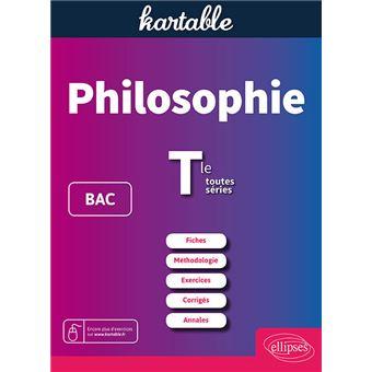 Philosophie Bac Et Term Toutes Series Broche Kartable Achat