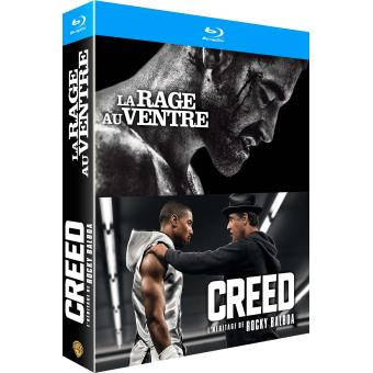 Coffret Creed, La rage au ventre Blu-ray