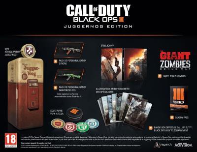 Call Of Duty Black Ops III Edition Juggernog PS4