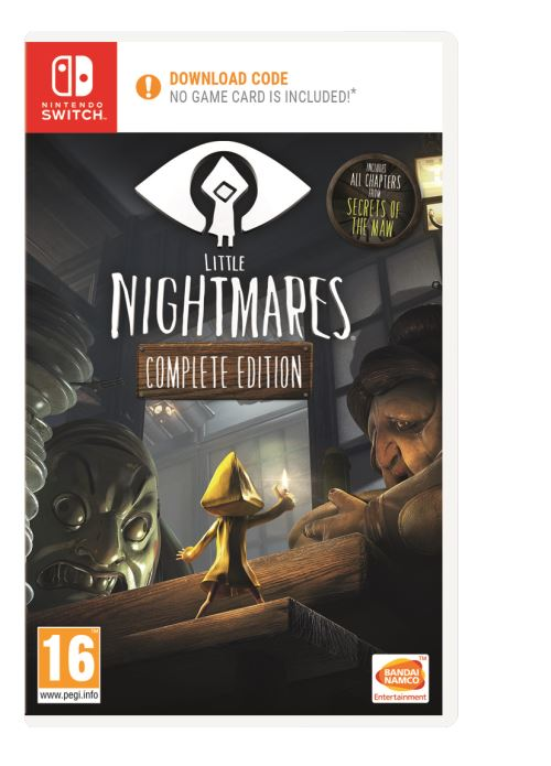 Little Nightmares Complete Edition Code in a Box Nintendo Switch