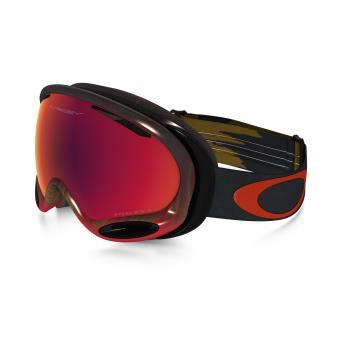 2b8f081dc6bb69 50% sur Masque de ski Oakley A-Frame 2.0 Noir et Rouge - Accessoire ...