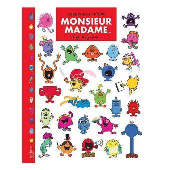 Monsieur Madame Tome 1 Monsieur Madame Cherche Et Trouve 1