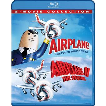 2pc / gift ac3 ws /airplane 2 movie collection /fr gb sp/st