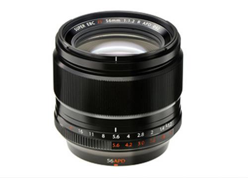 Objectif hybride Fujinon XF 56 mm F12 R APD pour monture Fujifilm X