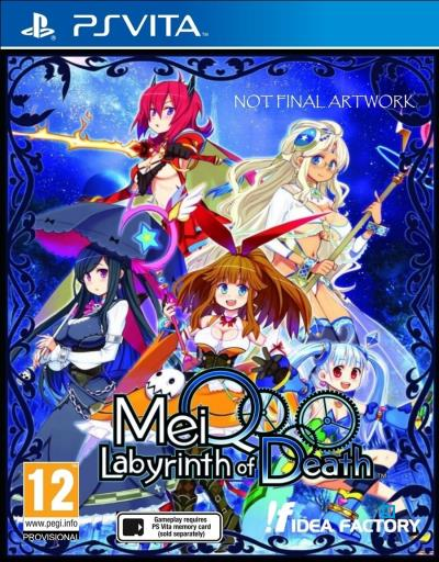 MeiQ : Labyrinth of Death PS Vita
