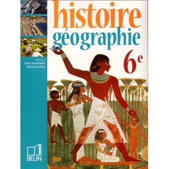 Histoire Géographie 6ème