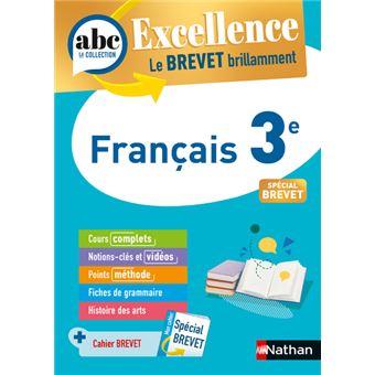 Abc Excellence Brevet Francais 3e Nouveau Brevet