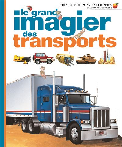 Le grand imagier des transports