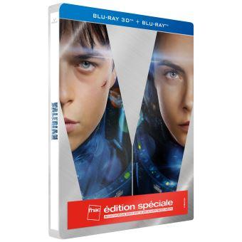 Valérian et LaurelineValérian et la Cité des Mille Planètes Steelbook Edition spéciale Fnac Blu-ray 3D