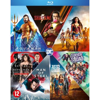 DC COMICS 7 MOVIE COLLECTION-BIL-BLURAY