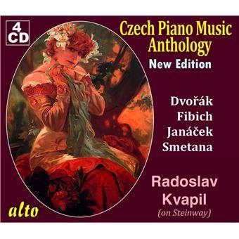 Anthologie de la musique tchèque pour piano