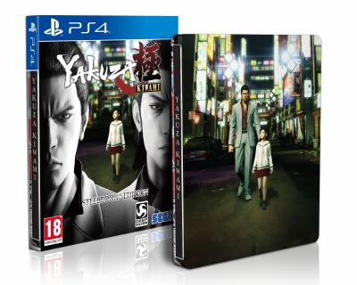 Yakuza Kiwami Edition Steelbook PS4