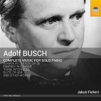 Busch : Intégrale de l'œuvre pour piano