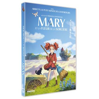 Mary et la fleur de la sorcière DVD