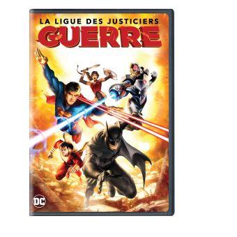 Justice leagueLa Ligue des justiciers : Guerre DVD
