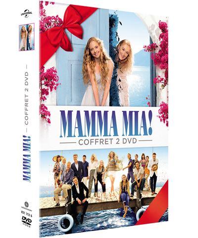 Coffret Mamma Mia 1 Et 2 Dvd Dvd Zone 2 Achat Prix Fnac