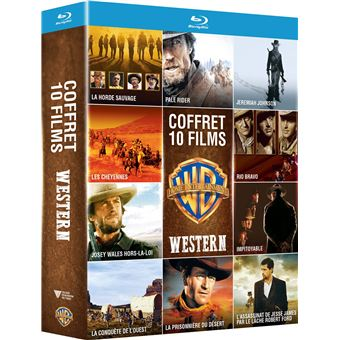 WESTERN 10 FILMS-FR-BLURAY