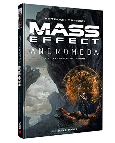 Mass Effect Andromeda : la Création d'un univers - Artbook officiel