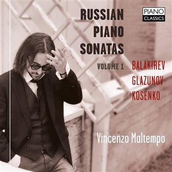 Sonates pour piano russes Volume 1