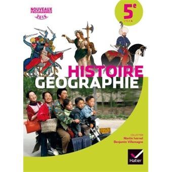 Histoire Geographie 5e Ed 2016 Manuel De L Eleve
