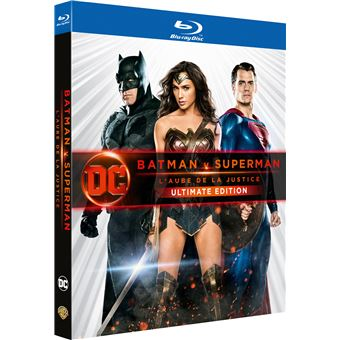 SupermanBatman V Superman L'aube de la justice Version Longue Ultimate Edition Blu-ray