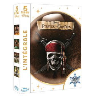 Pirate Des CaraïbesPirates des Caraïbes - Coffret de la Tetralogie - Blu-Ray