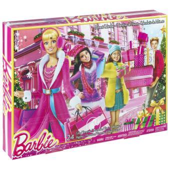 Calendrier Avent Barbie.Calendrier De L Avent Barbie