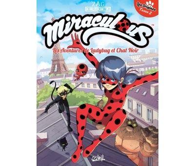 Miraculous Les Aventures de Ladybug et Chat Noir T02 - Les Origines 2/2