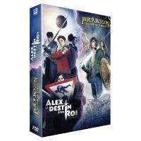 Coffret Alex, le destin d'un Roi et Percy Jackson : Le Voleur de Foudre DVD