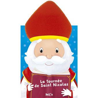 la tourn233e de saint nicolas cartonn233 collectif livre