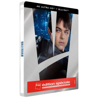 Valérian et LaurelineValérian et la Cité des Mille Planètes Edition spéciale Fnac Steelbook Blu-ray 4K UHD + Blu-ray