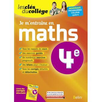 Je M Entraine En Maths 4eme