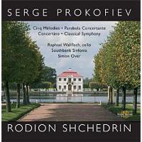 Cinq Mélodies op.35, Concertino pour violoncelle op.132 et Symphonie Classique op.25