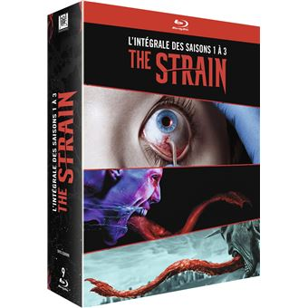 The StrainCoffret The Strain Saisons 1 à 3 Blu-ray